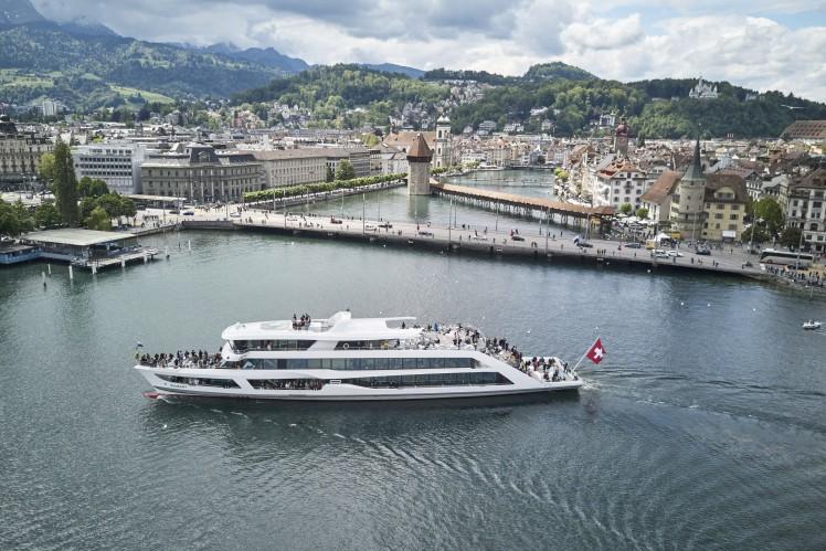 """Klimaneutrale """"MS Diamant"""" der Werft Shiptec AG"""