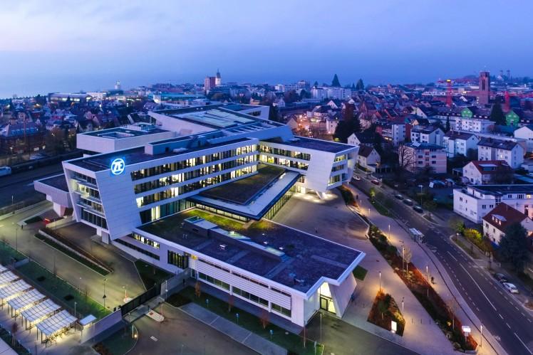 ZF's headquarter: ZF Forum in Friedrichshafen