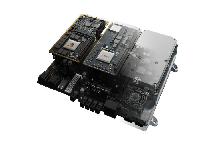 AI-capable Supercomputer ZF ProAI: Gen3