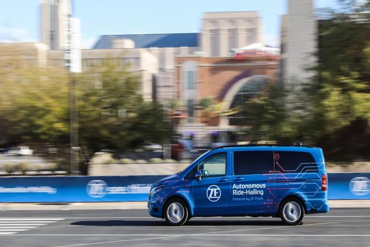 """Intelligent, vernetzt und serienreif: ZF lässt die """"Next Generation Mobility"""" auf der CES 2019 Realität werden"""