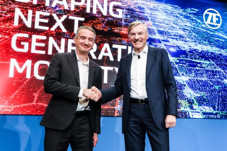 Handshake to partnership