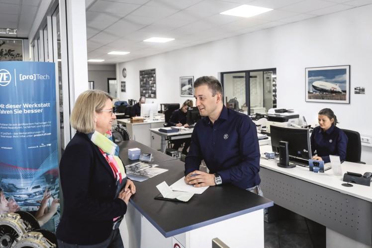 Mit dem Kompetenzzentrum bietet ZF Aftermarket eine exzellente Servicequalität und einen hohen Spezialisierungsgrad.