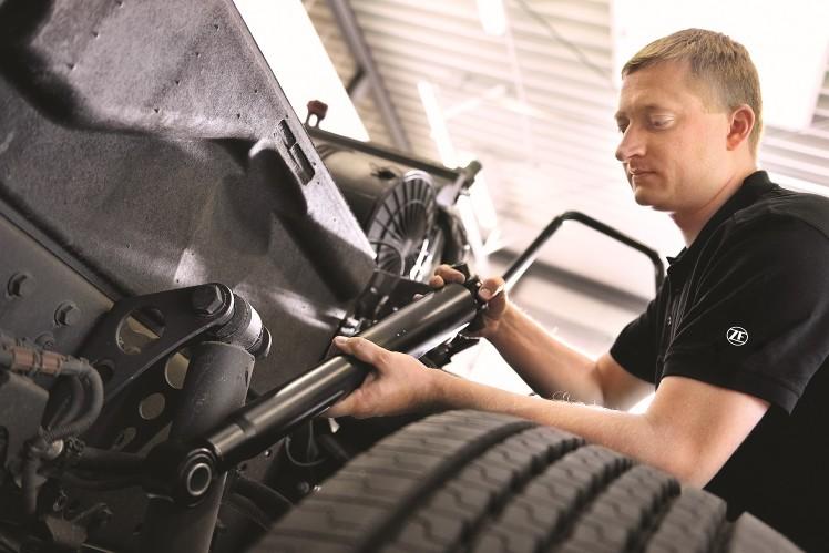 ZF Aftermarket gibt Expertentipps zur Fahrwerkkontrolle beim Lkw