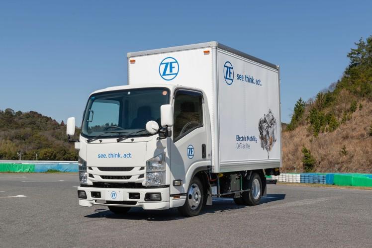CeTrax lite EV Truck
