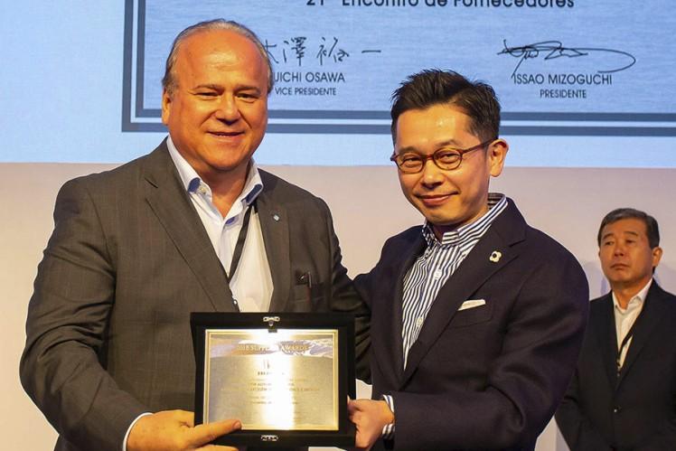 ZF recebe prêmio Supplier Awards no 21º Encontro de Fornecedores Honda
