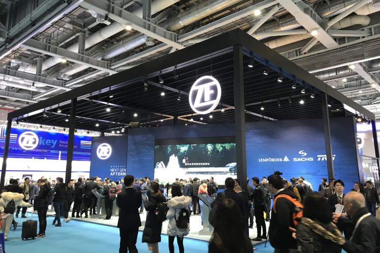 采埃孚在2019法兰克福上海展