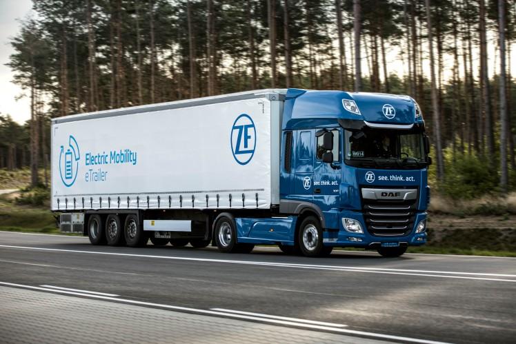 ZF rozwija swoje portfolio dla elektromobilności pojazdów użytkowych