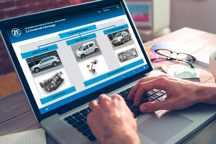Hochvolt-Training-Webinar von ZF Aftermarket