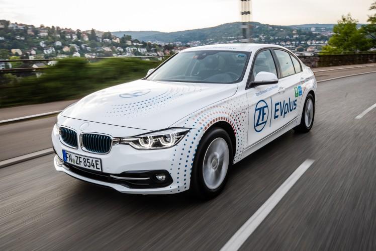 ZF EVplus macht aus dem PHEV das E-Auto für alle Fälle