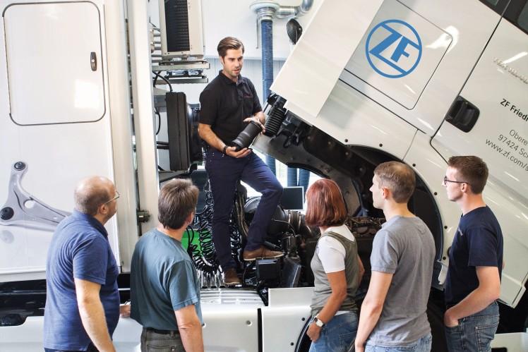 Produktschulungen von ZF Aftermarket für Nutzfahrzeugwerkstätten