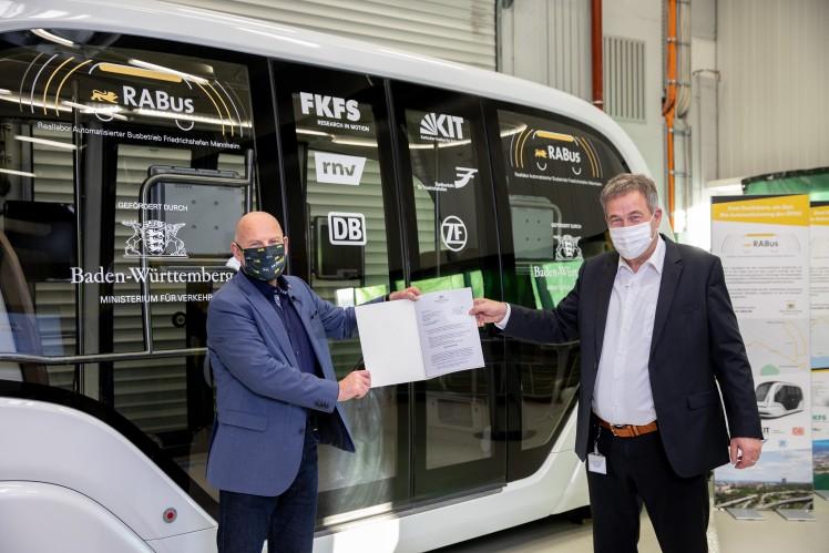 In Baden-Württemberg beginnt die Automatisierung des ÖPNV