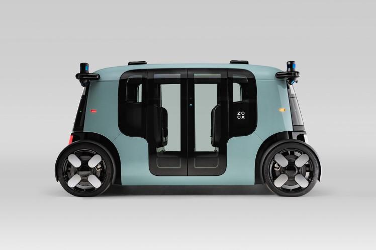 应用采埃孚技术的创新型Robo-Taxi
