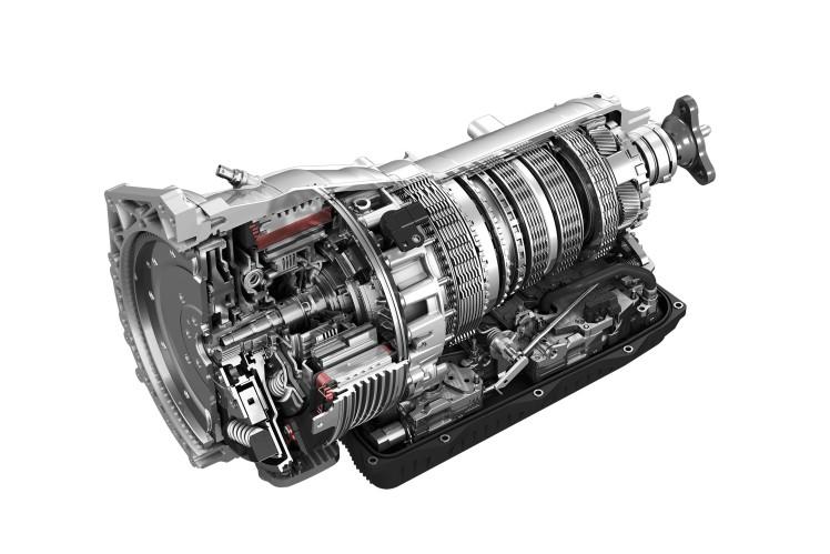 8HP Plug-in Hybrid Transmission for Jeep