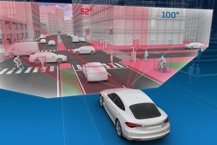 O campo de visão mais amplo da S-Cam 4.8 tem vantagens