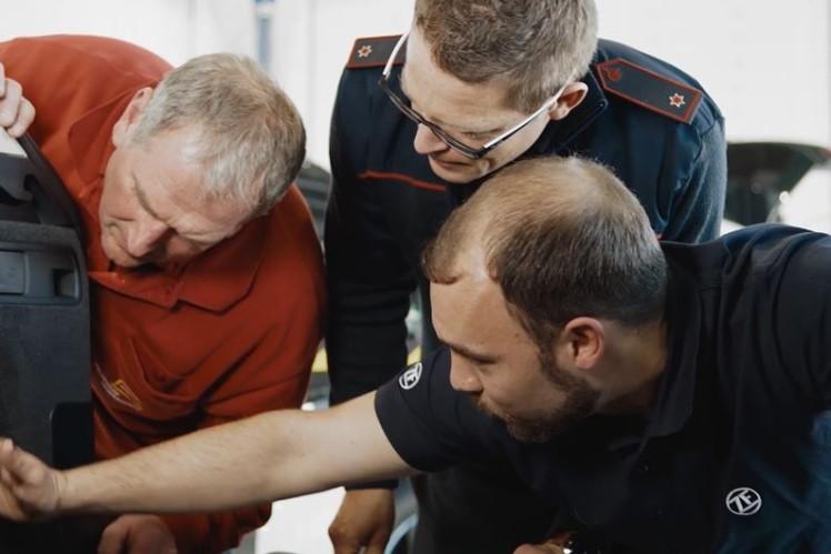 ZF Aftermarket Hochvolt Training Rettungskräfte