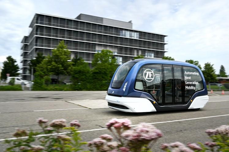 Autonome Shuttle-Systeme machen eine neue Art der Mobilität möglich