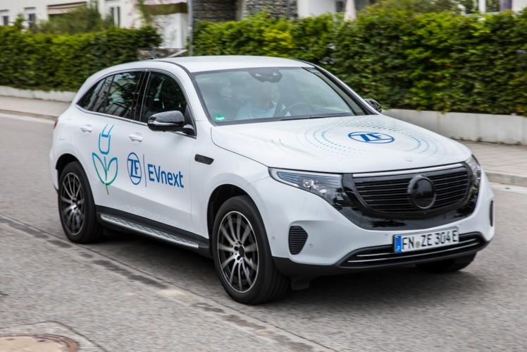 EVnext, ZF's concept car for IAA 2021