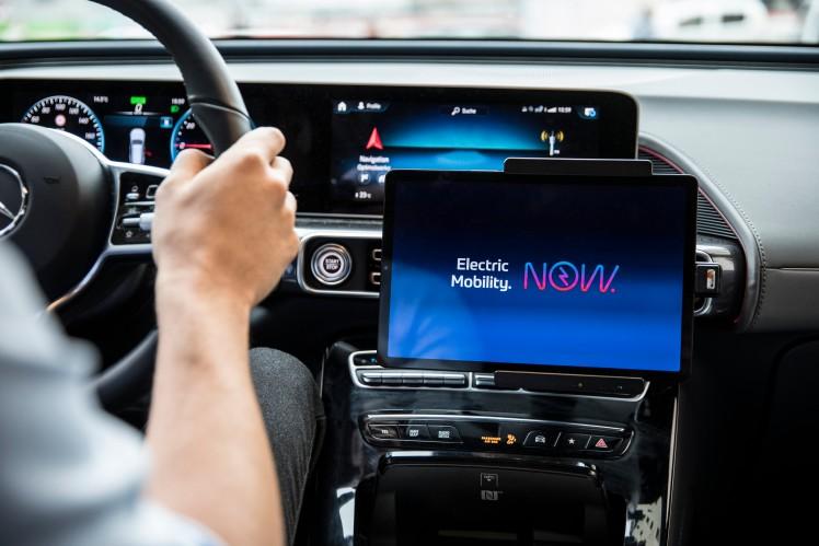 Interior of ZF's EVnext concept car