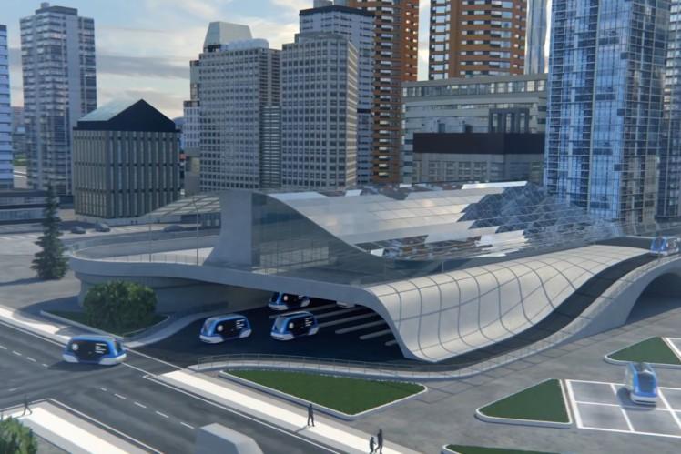 3D animation: ZF Autonomous Transport Systems