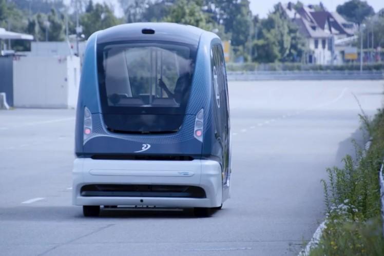 Footage: Autonomous Shuttles by ZF