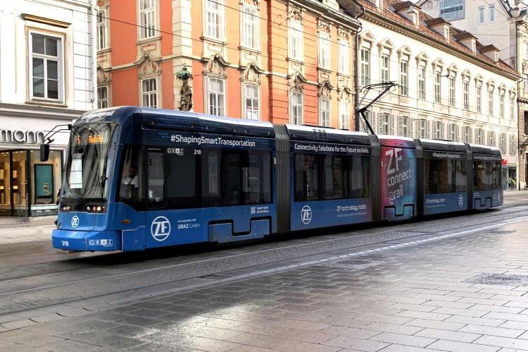 Die Zukunft der Zustandsüberwachung ist digital: Grazer Straßenbahnen werden effizienter und zuverlässiger