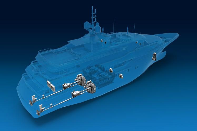 """Mehr """"E"""" für die See: ZF erweitert konsequent Hybrid-Portfolio für Maritim-Getriebe"""