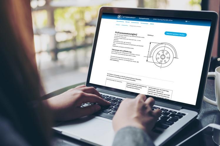 ZF Aftermarket Online-Portal