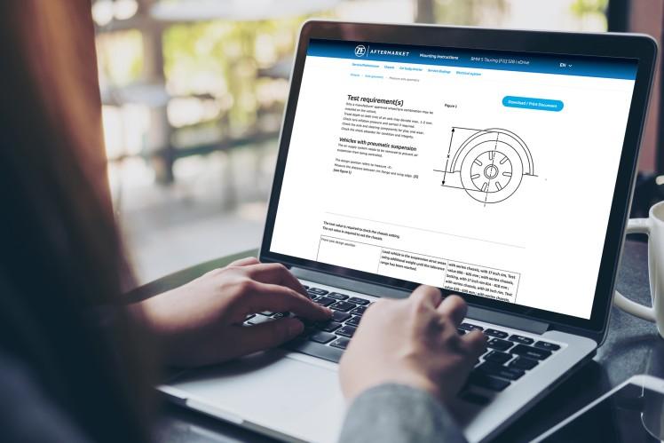ZF Aftermarket Portal