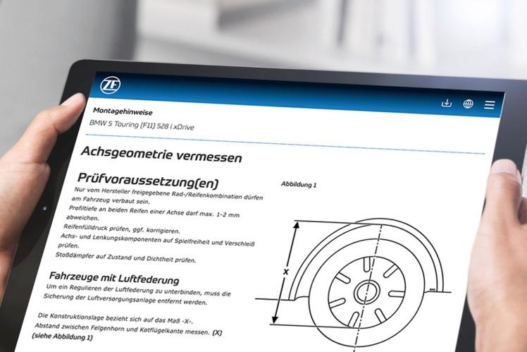 ZF Aftermarket macht sein Internetportal zum unentbehrlichen Arbeitsmittel für Werkstätten
