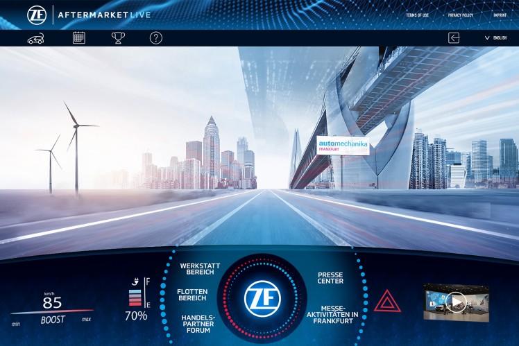 ZF Aftermarket Live: Dreitägiges Digital-Event zur Automechanika Frankfurt mit den neuesten Highlights für Aftermarket- & Flotten-Kunden