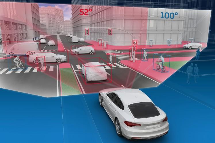 Für automatisiertes Fahren und Sicherheit: ZF gewinnt Auftrag für leistungsstarkes Mid-Range- Radar
