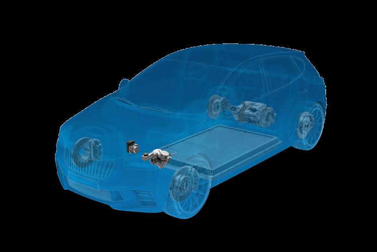 Bremsregelsystem ZF (Bild transparent)