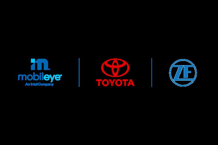 ZF und Mobileye für Sicherheitstechnik von Toyota ausgewählt