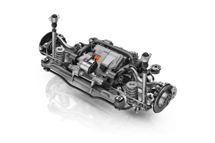 Für Achshybride oder reine E-Fahrzeuge: ZF integriert leistungsstarken elektrischen Antrieb direkt in innovative Hinterachse