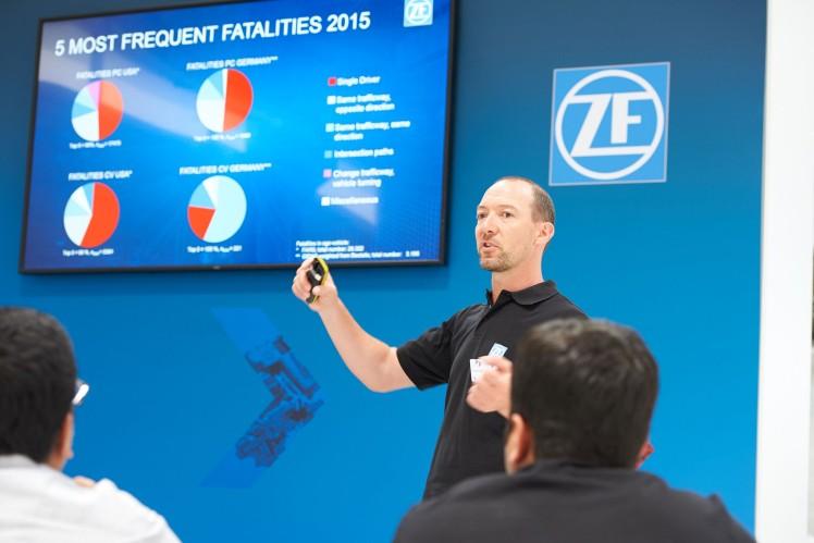 ZF Global Press Event 2017, Presentation on Integrated Safety, Dr. Gerhard Gumpoltsberger, Senior Manager Innovation Management