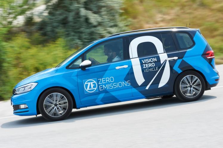 ZF's Vision Zero Vehicle