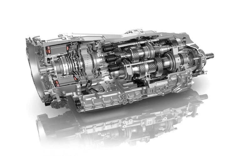 ZF: 8-Gang Doppelkupplungsgetriebe (8DT)