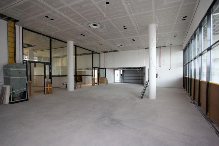 Räume der Wissenswerkstatt im ZF Forum