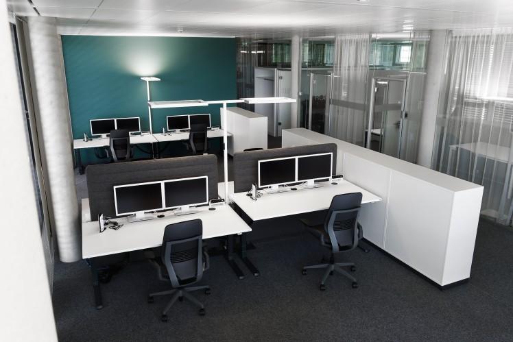Standard-Büroarbeitsplatz ZF Forum