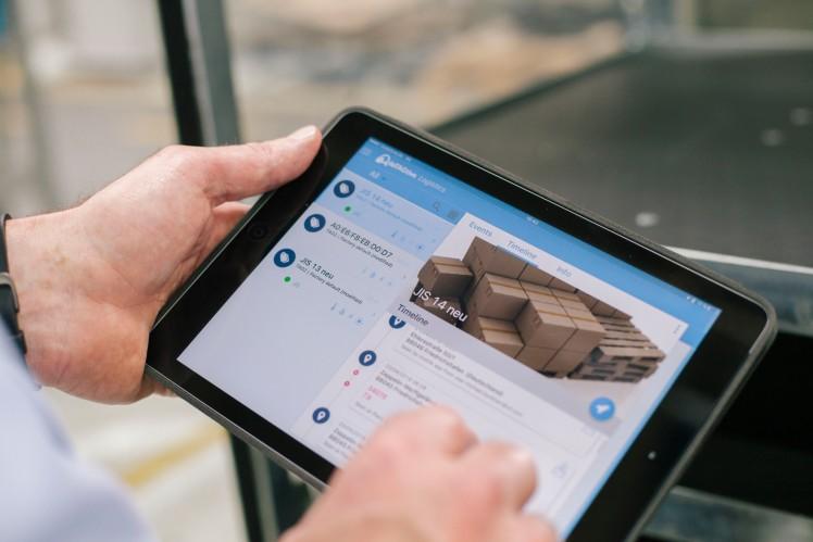 Preisgekrönte Datenplattform für effizientere Steuerung von Material und Waren