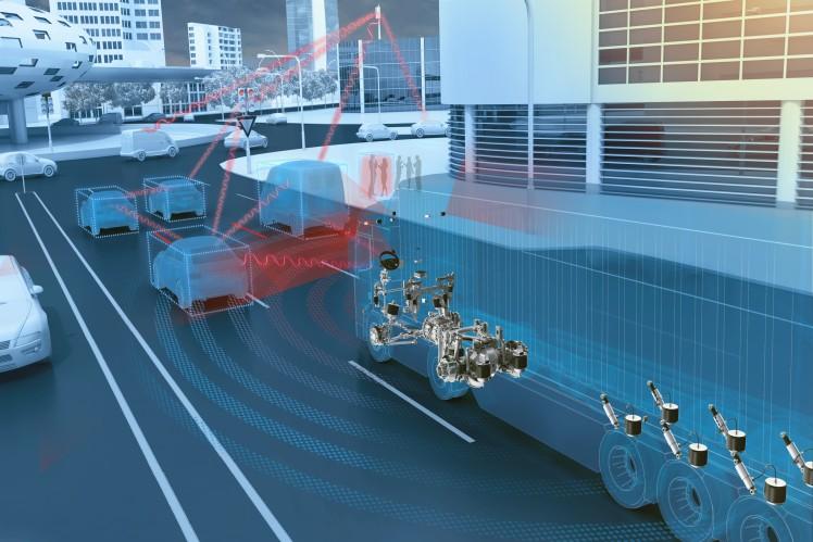 IAA 2018: ZF knüpft die smarte Logistik- und Transportkette der Zukunft