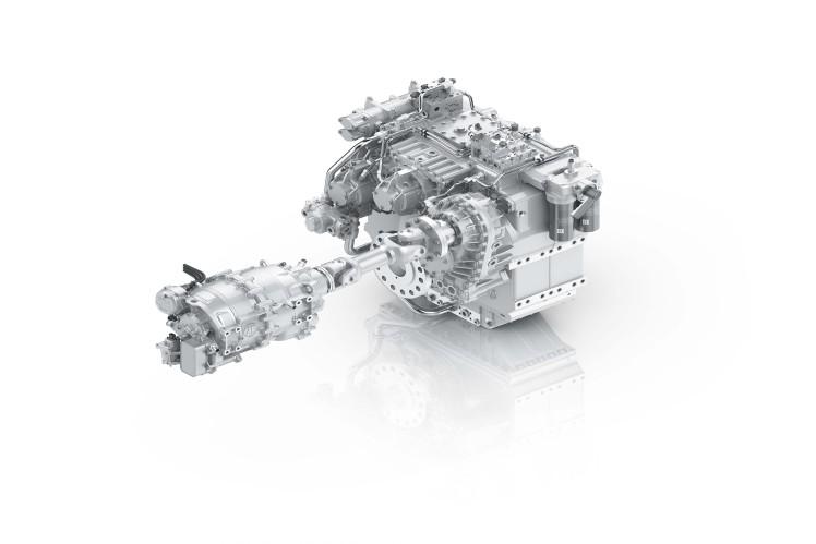 Hybridfähig: Das neue ZF 8300