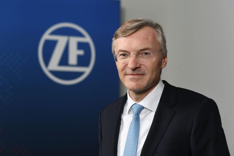 Wolf-Henning Scheider, ZF Friedrichshafen AG