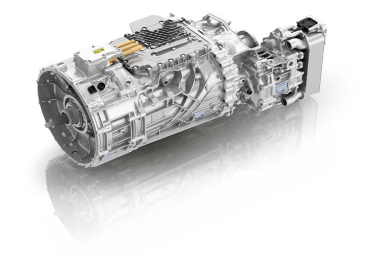 Mit TraXon Hybrid lassen sich bei schweren Nutzfahrzeugen alle Hybridfunktionalitäten umsetzen.