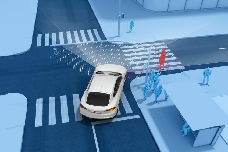 Notbremsassistent für Euro NCAP 2020