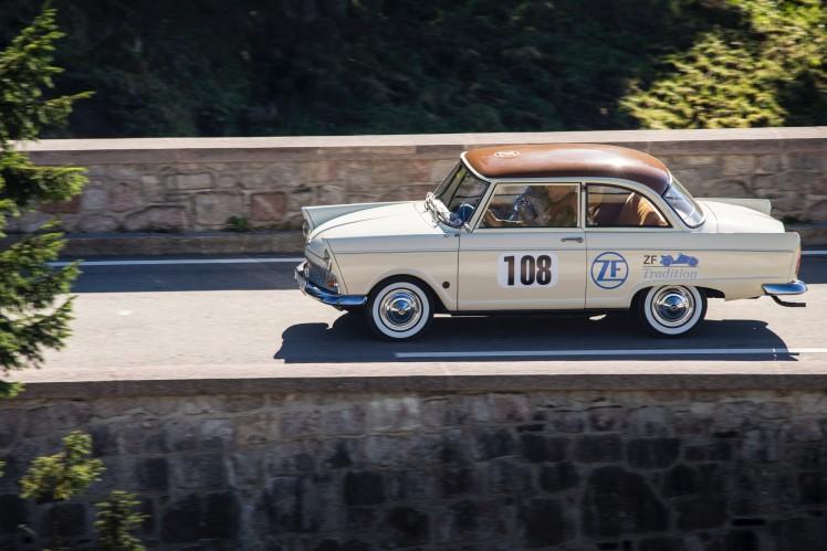 Drei Zylinder und sehr viel Spaß: DKW Junior von ZF am Rossfeldrennen.