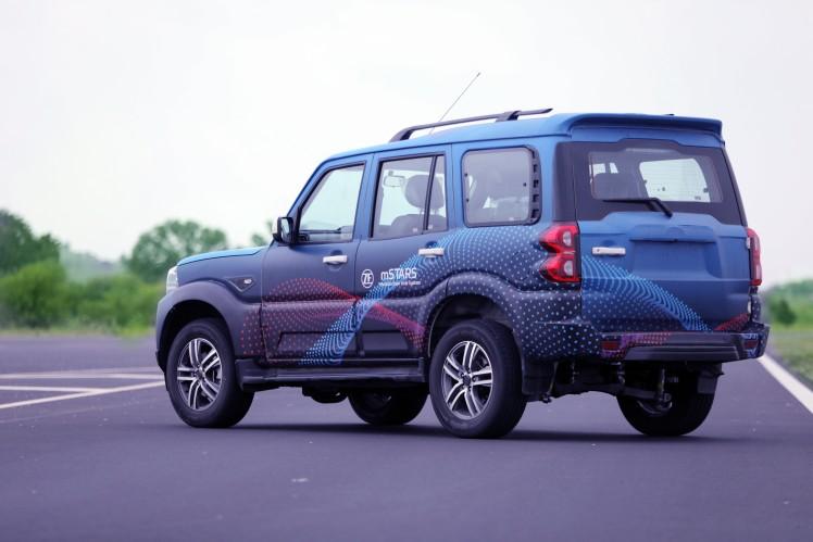 Demo Vehicle, ZF at FISITA 2018