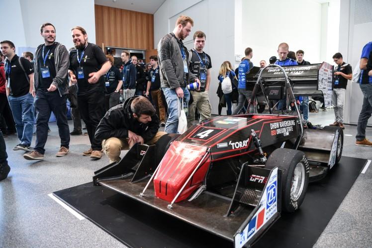 Auftakt zur Formula-Student-Saison 2019 bei ZF
