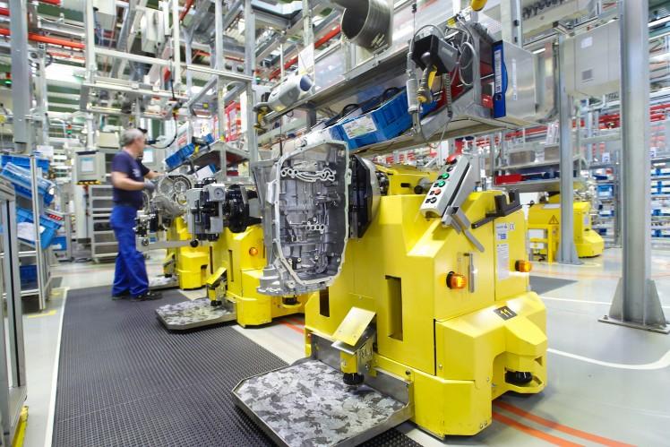 Transmission assembly at the Saarbrücken location