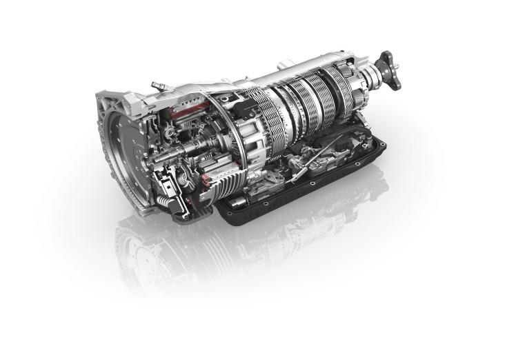 8-Speed Plug-in Hybrid Transmission
